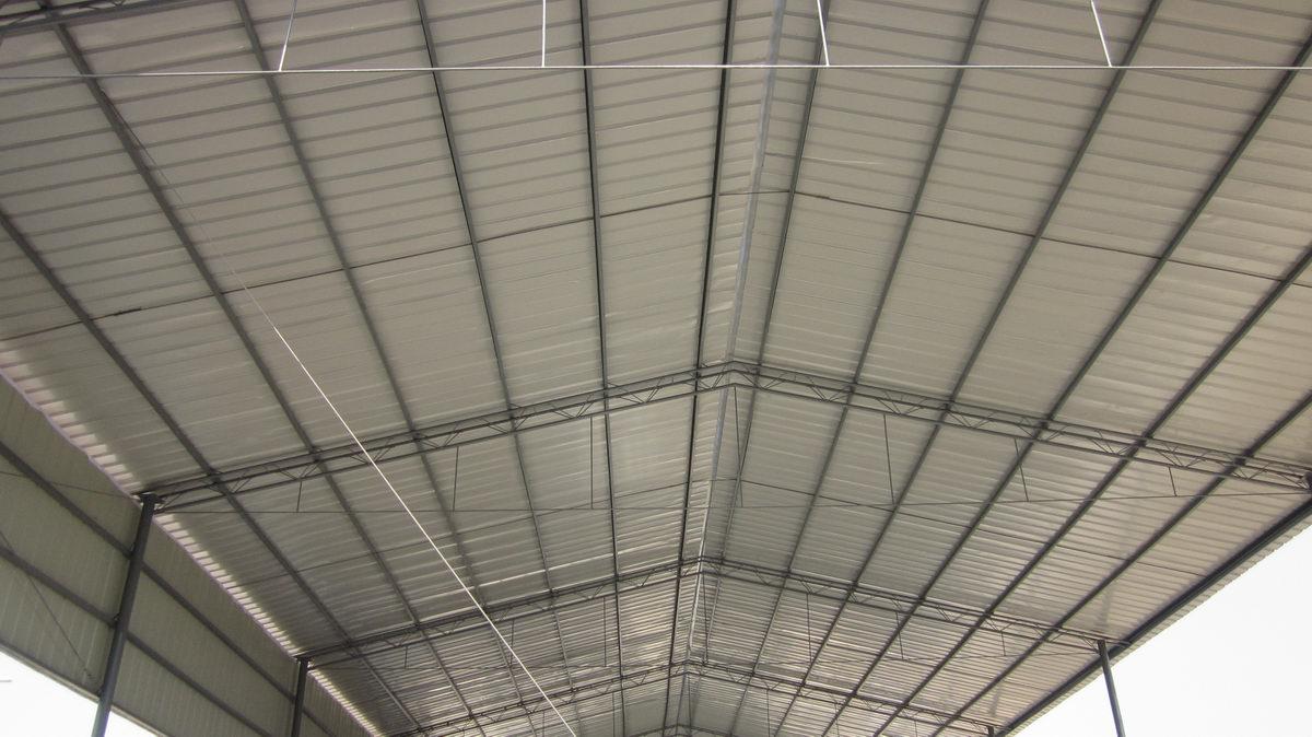 彩钢棚-彩钢大棚-靖江钢结构|江苏钢结构|钢承板|钢